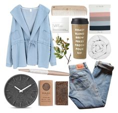 """D13th[Roast]"" by oohraven ❤ liked on Polyvore featuring Swarovski, Chicnova Fashion, Levi's, The Fine Bedding Company, J.Crew, HAY, LEFF Amsterdam, Kate Spade, Madewell and NARS Cosmetics"