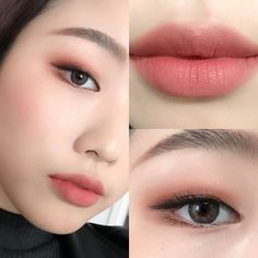 Makeup Tutorials If you look at make-up for work less is more. U - Korean Makeup Tutorials If you look at make-up for work less is more. U -Korean Makeup Tutorials If you look at make-up for work less is more. U - Ko. Korean Makeup Look, Korean Makeup Tips, Korean Makeup Tutorials, Ulzzang Makeup Tutorial, Korean Natural Makeup, Asian Eye Makeup, Eyeshadow Tutorials, Eyeliner Tutorial, Eye Tutorial