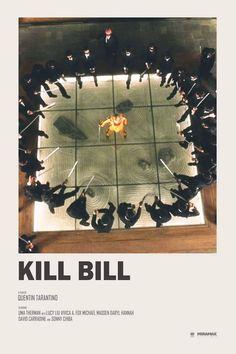 Andrew Sebastian Kwan - Kill Bill alternative movie poster Prints available HERE - Iconic Movie Posters, Minimal Movie Posters, Minimal Poster, Cinema Posters, Movie Poster Art, Poster Series, Retro Poster, Movie Prints, Poster Prints