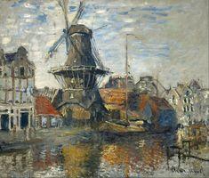 Claude Monet - The Windmill on the Onbekende Gracht, Amsterdam - Google Art Project.jpg