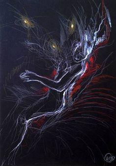 """Saatchi Art Artist Sylvia C Sosnovska Artist; Drawing, """"Taken"""" #art"""