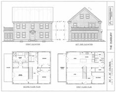 Post & Beam House Plans and Timber Frame Drawing Packages by Timberworks Design http://www.vermontframes.com/timber_frame_designs.php