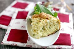 Bread and Swiss Cheese Souffle Recipe