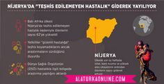 """Nijerya'da """"teşhis edilemeyen hastalık"""" giderek yayılıyor   - Ülkede son üç haftada ishal, kanlı kusma ve yüksek ateş şikayetinin ardından ölenlerin sayısı 62'ye çıktı - Hastalık özellikle ülkenin Batı Yagba bölgesine bağlı Okunran, Okoloke ve Isanlu-Esa köylerinde can aldı - Yetkililer """"gizemli hastalığa"""" teşhis koyamadıklarını ancak araştırmaların sürdüğünü duyurdu"""