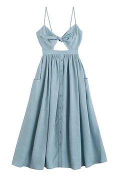 Mara Hoffman - Slate Tie Front Dress BONA DRAG