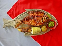 Smoked cachama in Caquetá department Colombian Cuisine, Fish Dishes, Food, Freshwater Fish, Meals, Yemek, Eten