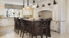 A selection of Meridians most appreciated interior and exterior design work including kitchens, dining rooms, and living rooms. Exterior Design, Interior And Exterior, Custom Built Homes, Bar Stools, Kitchen Planning, Dining Room, Houzz, Building, Table