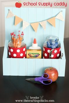 This would be great to store and organize supplies on a desk.