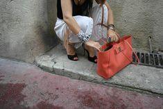 Look Entre deux saisons - Marques: TopZara, PantalonZara perlé par mes soins, ChaussuresSteve Madden, Sac Ivanka Trump, Veste en simili cuir Morgan - Cécile Chavin, blog mode, blogueuse Française, blog mode montpellier