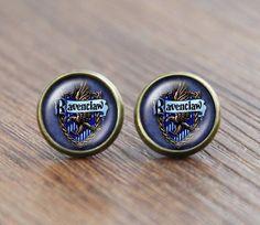 Harry potter earrings Jewelry Hogwarts earrings by MagicCountry, $4.99