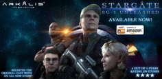 Stargate SG-1: Unleashed Ep 1 available in Amazon App store