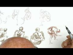 Timed Model Drawing Session 4 // Instructor: Glenn Vilppu - YouTube Drawing Practice, Drawing Poses, Life Drawing, Figure Drawing, Art Tutor, Art Education, Drawings, Tutorials, Youtube