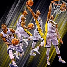 Paul george wallpapers basketball wallpapers at wallpapers pinterest how to dunk like a beast voltagebd Image collections