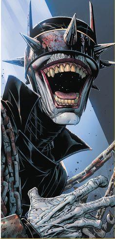 Batman who laughs joker Joker Comic, Batman Comic Art, Joker Art, Batman Metal, Batman Dark, Im Batman, Comic Book Characters, Comic Books Art, Comic Character