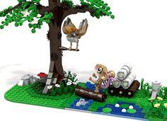 Lego Gruffalo mouse tree