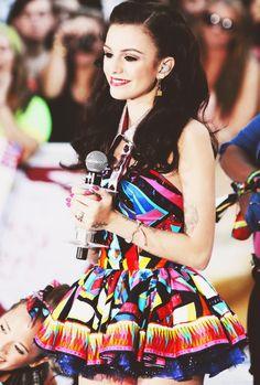 Cher Llyod's dress is cute!