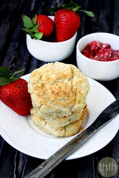 Vegan Coconut Oil Biscuits...vegan and dairy-free | The Healthy Family and Home