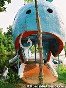 The Big Blue Whale in Catoosa Oklahoma! Rt. 66 I cant believe i found this on here!!! bahahaha
