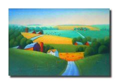 Artist: Gordon Kellenberger, Title: Farm Country - $800