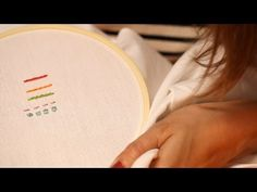 Five Most Common Embroidery Stitches    KIN DIY