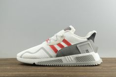 timeless design 1be58 a5f21 Adidas Originals EQT Cushion Adv White Red Athletic Cp9460 Where To Buy Shoe  Buy Shoes,