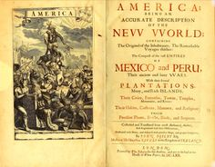 """'Arnoldus Montanus' New and Unknown World (1671). During the mid to late 1600's, this Dutch historian documented what he saw in the Americas. Whats more interesting is that the Indigenous Indians he encountered were """"Negroes,"""" evidence of this is found all throughout this book. This history was not covered in public schools for a reason. For more info visit (https://archive.org/details/americabeingaccu00mont)"""