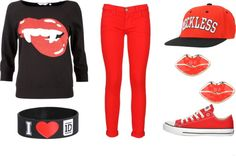 """""""Kiss"""" by gabriella-rose-butler on Polyvore"""