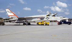 North American RA-5C Vigilante from RVAH-3 Squadron.