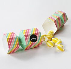 Bonbon Candy Favour Box from Eat Drink Chic