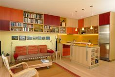 bookshelves & cabinets -- Serrao Design/Architecture