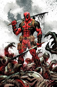 Deadpool Kills The Marvel Universe Variant - Tyler Kirkham
