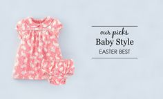 Baby and Toddler Easter Outfits - super-adorable!