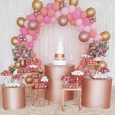 Balloon Garland, Balloons, Kids Party Planner, 18th Birthday Party, Pastel, Kids Party Decorations, Pink Parties, Party Supplies, Decor Ideas