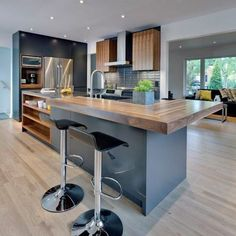 32 Lies Youve Been Told About Design Aspects to Consider in Contemporary Kitchen Renovation - homevignette Home Decor Kitchen, Kitchen Remodel, Contemporary Kitchen Renovation, Contemporary Kitchen, Kitchen Room Design, Home Kitchens, Modern Kitchen Design, Kitchen Style, Kitchen Renovation