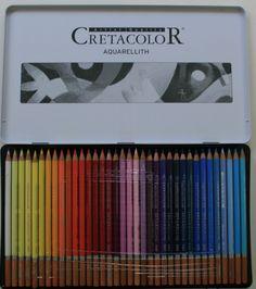 Aquarellstifte Kasten mit 72 Stiften Aquarellith - Berlhofer-Farben GesmbH