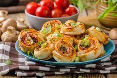 Depositphotos Pesto, Finger Foods, Baked Potato, Sprouts, Pizza, Potatoes, Baking, Vegetables, Ethnic Recipes
