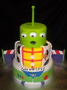 Toy Story Cake :)  by Cakes with L.O.V.E.