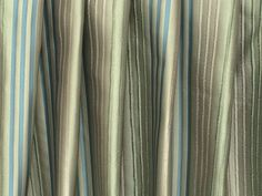 Green Stripes Curtain Drapes Curtain Panels Custom Curtains Window Curtains Valance Bedroom Curtains Window Treatment Door Curtains For Sale by FabricMart on Etsy