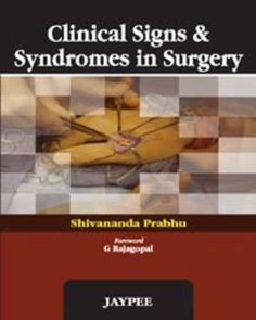 Clinical Signs and Syndromes in Surgery PDF