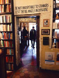 #NYU #London | Shakespeare and Co Bookshop