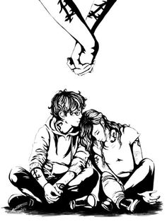 Simon and Clary // Shadowhunters// The mortal instruments