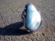 Larimar, quickly becoming my favorite stone.
