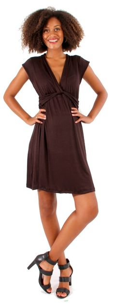 d&a twist front nursing dress | Japanese Weekend Nursing and Maternity Clothing