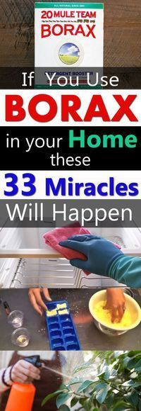 If you have a box of Borax you've no idea how effective it can be in your home and garden. Must check out these unbelievable Borax Uses!