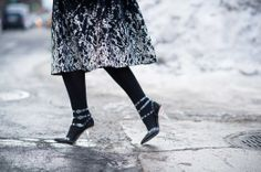 I want this footwear look  New York's Finest - New York Fashion Week Fall 2014 Day 3