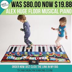 Great gift for a lucky kid! Get this piano for $19.88 reg $80 plus free shipping GO to link in my bio @tomorrowsmom for details . . . . Visit My Blog: TomorrowsMom.com |Organic & Natural Deals|Family Savings Deals| . TAG OR DM THIS DEAL 2 A FRIEND . . #frugal #savings #deals #cosmicmothers  #organic #fitmom #health101 #change #nongmo #organiclife #crunchymama #organicmom #gmofree #organiclifestyle #familysavings  #healthyhabits #lifechanging #fitpeople #couponcommunity #deals  #healthyppl…