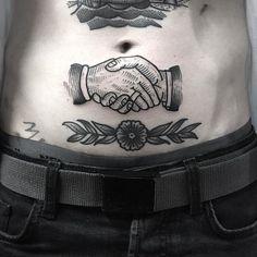 Handshake for john, thanks. flower healed. for info : wthewizz@gmail.com #blacktattoomag #amsterdam #amsterdamtattoo #tattoojorisandco #tattooamsterdam #darkartist #darkartists #oldlines #onlyblackart #woodcuttattoo #blxckink #btattooing #blackworker #blackworkers #blackworkerssubmission #bestblacktraditional #boldwillhold #flashworkers #trflash #trad_flash #trad_tattooflash #lovettt #primitivetattoo #btattooing #blacktraditionals #blacktoptattooing #topclasstattooing #blacktattoomag