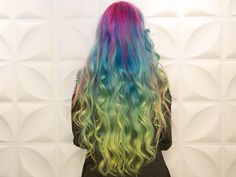 Vivid Color Melt Hair Tutorial by Hair God Zito