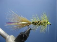 Hot Spot Olive Wooly Bugger - On The Vise