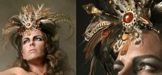 """Regal Tribal Headdresses - Inspiration Piece for Cahja's """"Coming to America"""" photo"""